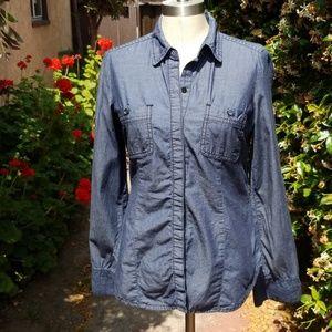 ISAAC MIZRAHI Long Sleeve Shirt size Small